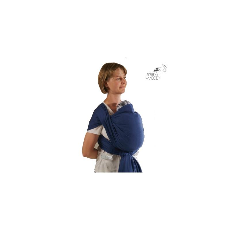 L écharpe de portage Storchenwiege Léo Marine est conçue pour porter sur le  ventre, sur la hanche et sur le dos dans une position agréable et  physiologique ... 735688d11bb