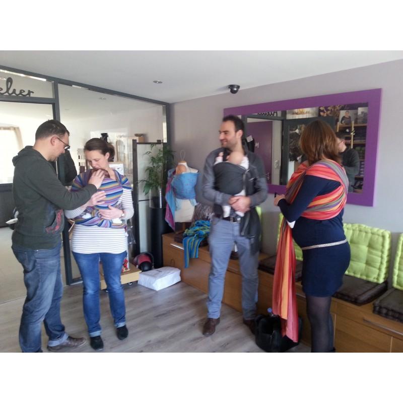 9be5ae4e378 Atelier de portage révision - apprendre à porter son bébé en écharpe ...