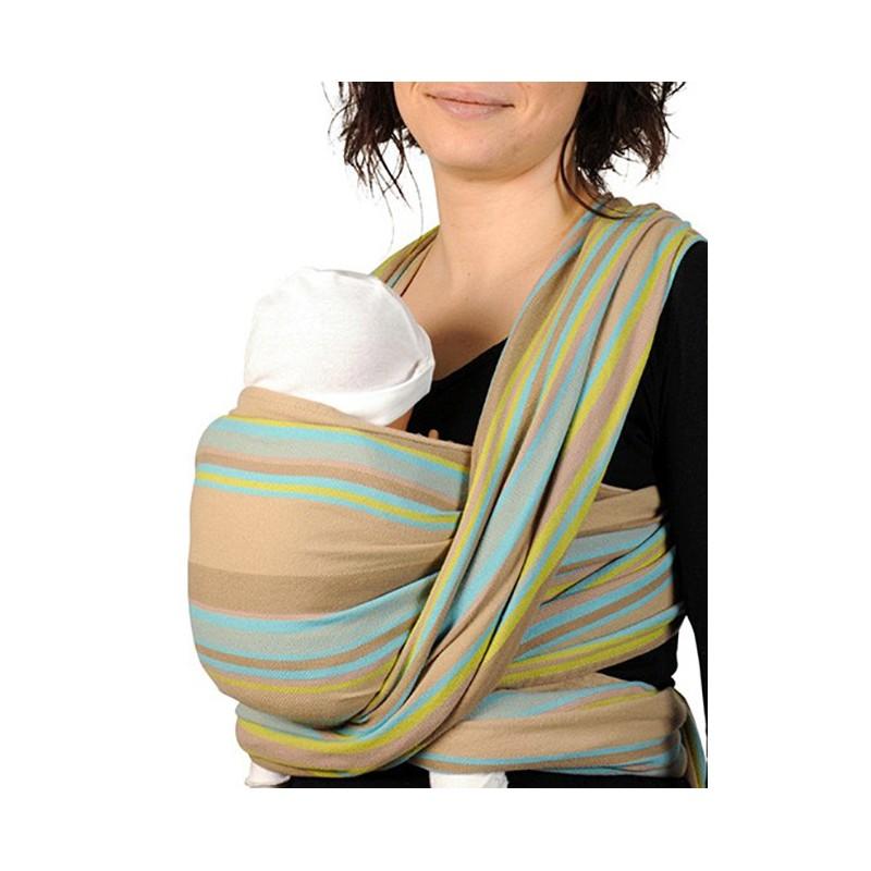 Cette écharpe de portage Néobulle est conçue pour porter sur le ventre, sur  la hanche et sur le dos dans une position agréable et physiologique pour ... de0637526c0