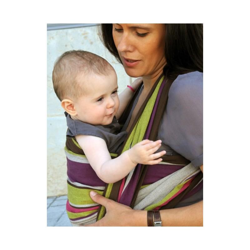 Écharpe de portage Neobulle à rayures Julie 47689604a90