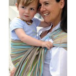 f257e9849d34 Sling de portage Bulline... La petite écharpe sans noeud bulline Sacha est  un porte-bébé « tout prêt » ...