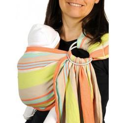 ce3a8cb695fe Sling de portage Bulline... Le bulline Maya, petite écharpe sans noeud, est  un porte-bébé « tout prêt » ...