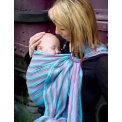 46827c43b23d Sling de portage Bulline... Le bulline Louis, petite écharpe sans noeud, est  un porte-bébé « tout prêt » ...