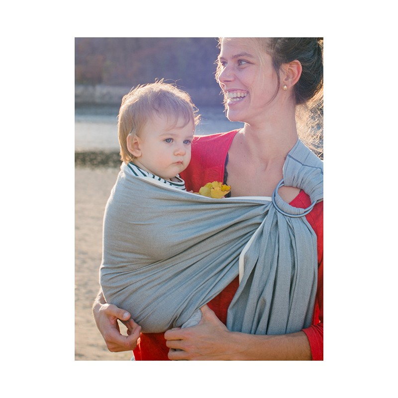 c52ecf9a188 Le sling de portage de Neobulle bulline est une petite écharpe sans noeud  et un porte-bébé « tout prêt » qui permet un portage respectueux dans une  position ...