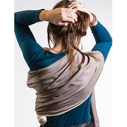 f48c94b67025 Sling de portage Bulline... Le sling de portage de Neobulle bulline est une petite  écharpe sans noeud et un porte-bébé « tout prêt » ...
